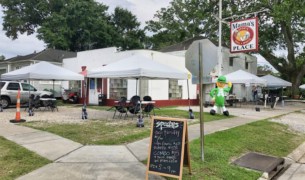 mama's place bar - old metairie - photo - nolaplaces, June, 2020