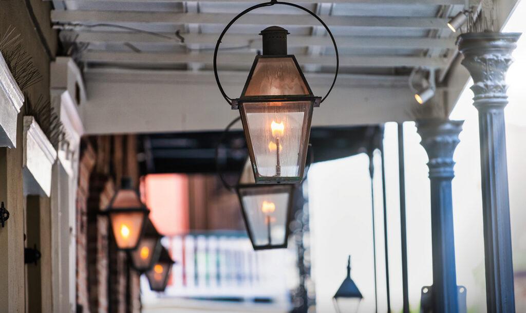 Bevolo Gas Lights New Orleans - Nola Places