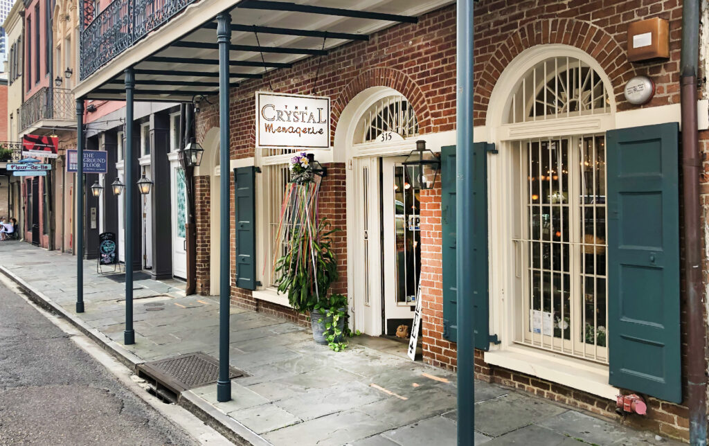 Crystal Menagerie New Orleans French Quarter - photo - nola places