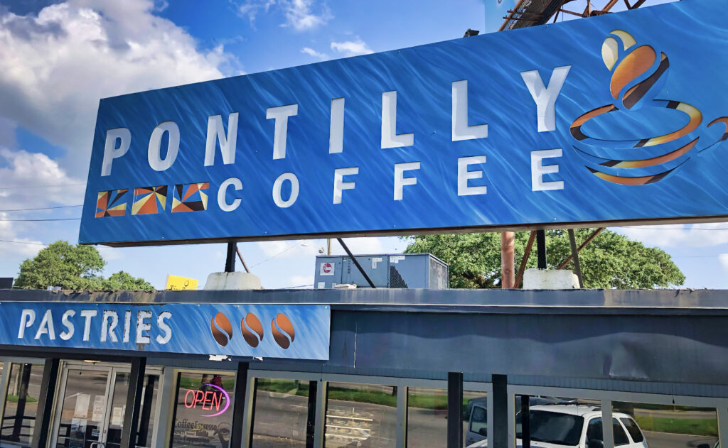 Pontilly Coffee new orleans - nola places photo - july 2020