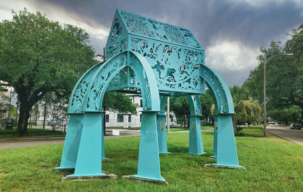 spirit house sculpture new orleans - nola places photo