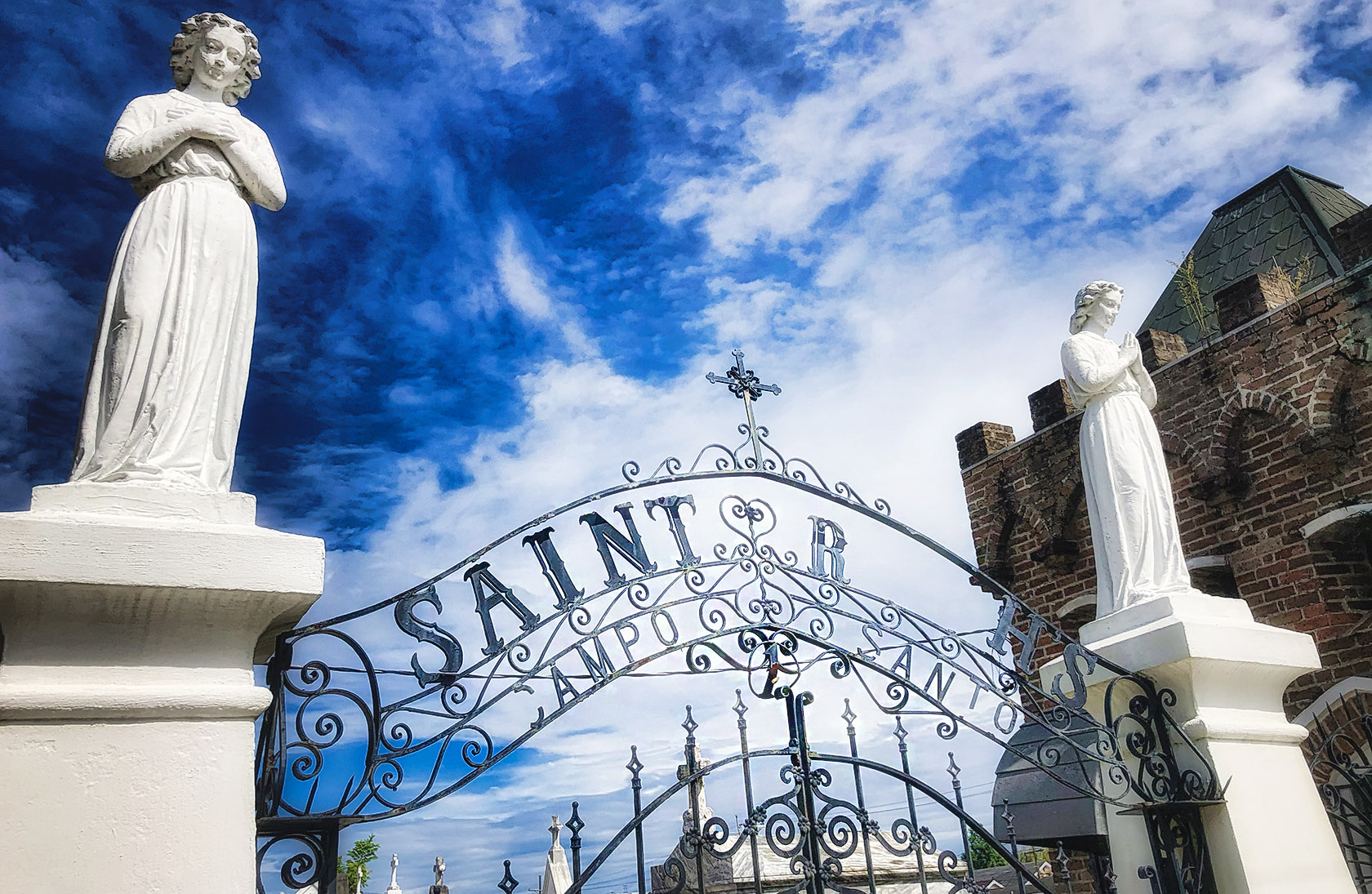 St. Roch Cemetery New Orleans - nola places photo - august 2020