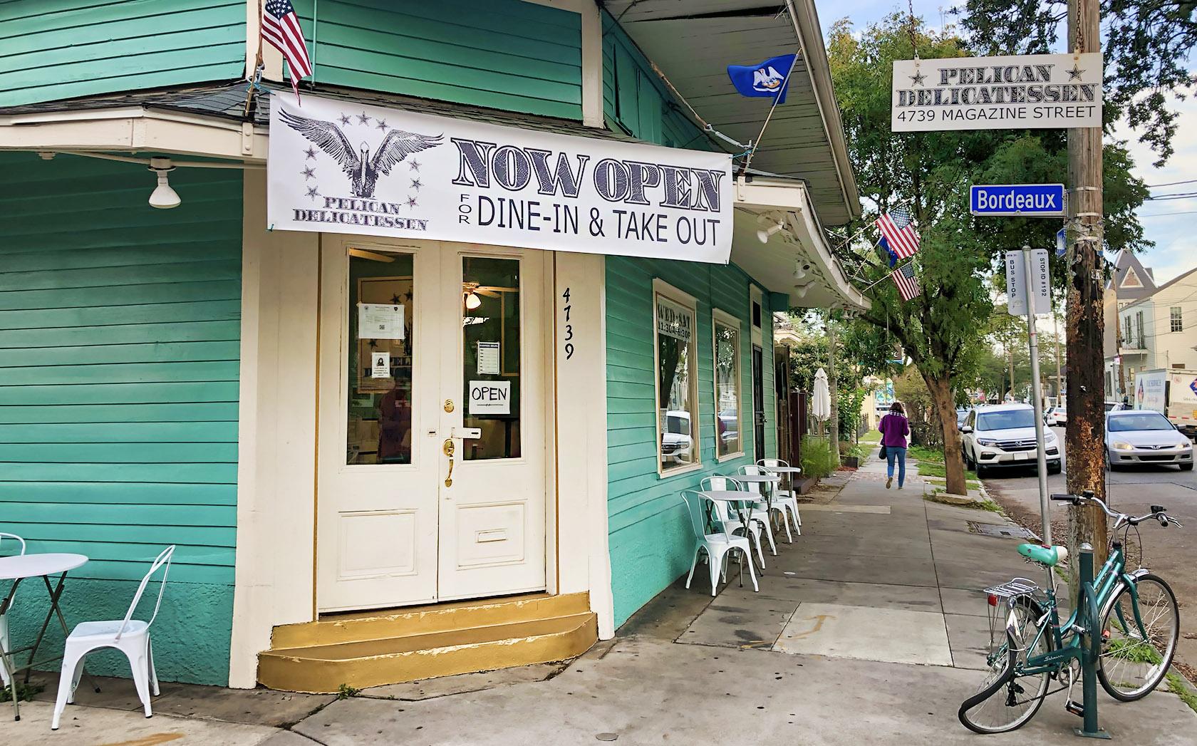 pelican delicatessen restaurant - uptown - nola places photo