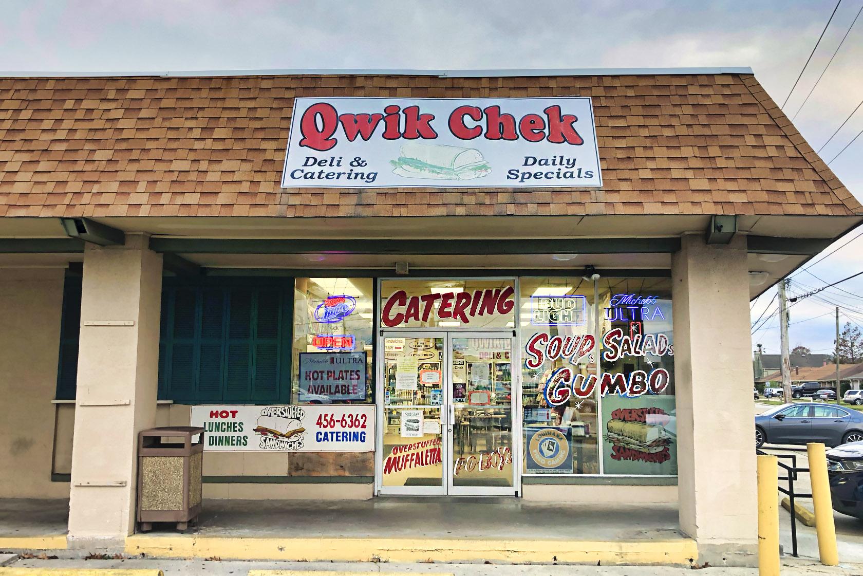 qwik chek deli - nola places photo