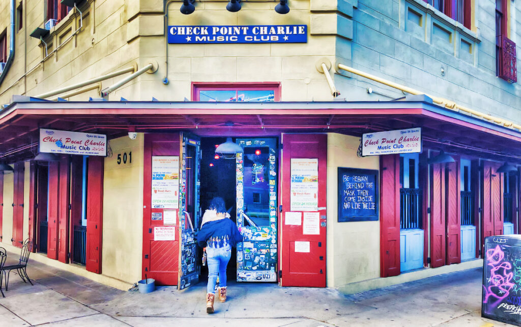 check point charlie new orleans bar - nolaplaces photo